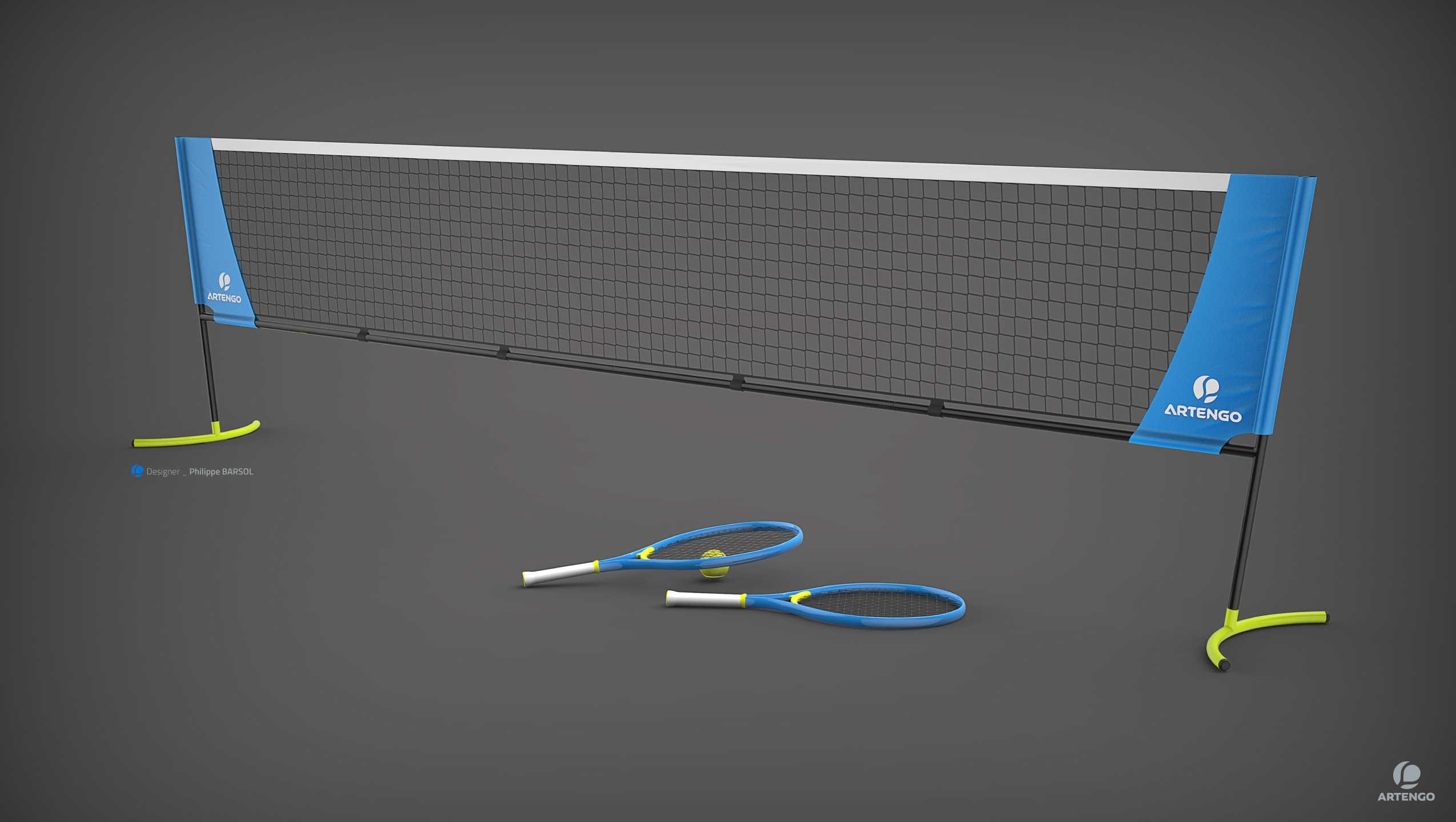 filet mini tennis premisse design. Black Bedroom Furniture Sets. Home Design Ideas